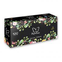 Papilion Бумажные салфетки в боксе Нон-стоп, 100 шт, вытяжные, 2 слоя