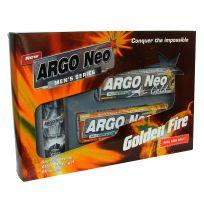 Набор ARGO Neo окно Golden Fire (шампунь, крем для бритья, крем после бритья)