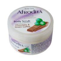 Afrodita SPA скраб для тела Шоколад и Зеленый кофе, 350 мл