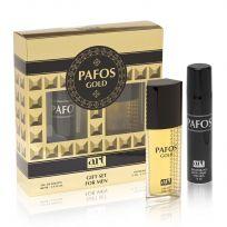 Набор Pafos GOLD (туал. вода 100 мл, дезодорант 75 мл)