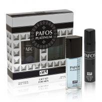 Набор Pafos PLATINUM (туал. вода 100 мл, дезодорант 75 мл)