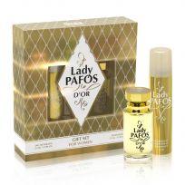 Набор Lady Pafos D'OR (туал. вода 55 мл, дезодорант 75 мл)