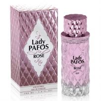 Lady Pafos ROSE туалетная вода для женщин, 100 мл