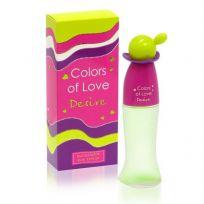 Colors of love DESIRE туалетная вода для женщин, 65 мл