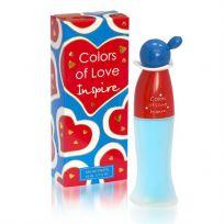 Colors of love INSPIRE туалетная вода для женщин, 65 мл