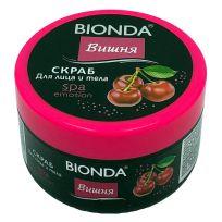 Bionda SPA скраб для лица и тела Вишня, 350 мл