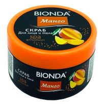 Bionda SPA скраб для лица и тела Манго, 350 мл