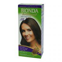 BIONDA Brilliant Крем-краска для волос №224 Молочный шоколад