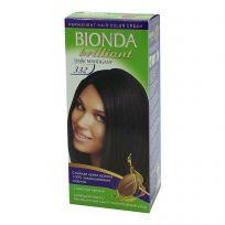 BIONDA Brilliant Крем-краска для волос №332 Тёмный махагон