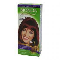 BIONDA Brilliant Крем-краска для волос №229 Красный гранат