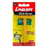 Laser Click Razor Бритва со сменным лезвием + 1 лезвие в наборе