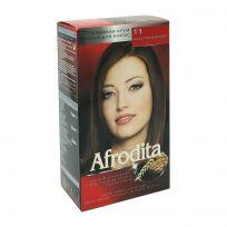 Afrodita Крем-краска для волос № 11 Каштановый