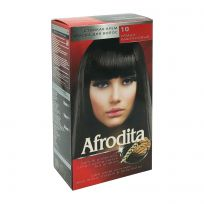 Afrodita Крем-краска для волос № 10 Тёмно-каштановый