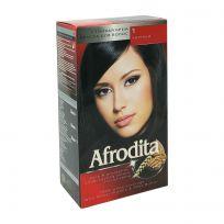 Afrodita Крем-краска для волос № 01 Чёрный