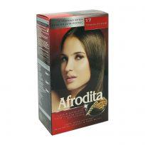 Afrodita Крем-краска для волос № 17 Тёмно-русый