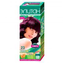 Элитан Крем-краска для волос №23 божоле