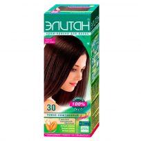 Элитан Крем-краска для волос №30 тёмно-каштановый