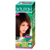 Элитан Крем-краска для волос №50 тёмно-русый