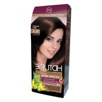 Элитан Крем-краска для волос № 2.17 черный кофе (натуральный)