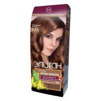 Элитан Крем-краска для волос № 5.37 золотистый каштан (натуральный)