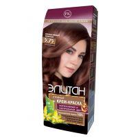 Элитан Крем-краска для волос № 5.75 интенсивный каштан (натуральный)