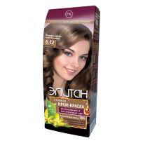 Элитан Крем-краска для волос № 6.12 перламутрово-каштановый (натуральный)