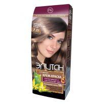 Элитан Крем-краска для волос № 7.81 сияющий перламутрово-русый (натуральный)