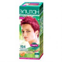 Элитан Крем-краска для волос №F04 красное золото