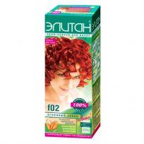 Элитан Крем-краска для волос №F02 огненный танец