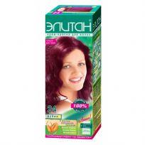 Элитан Крем-краска для волос №24 рубин