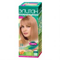 Элитан Крем-краска для волос №74 карамель