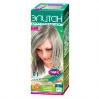 Элитан Крем-краска для волос №81 пепельный