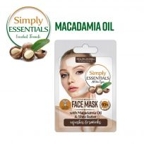 Маска для лица с маслом Макадамии Simply Essentials Macadamia Oil, 7 мл, саше