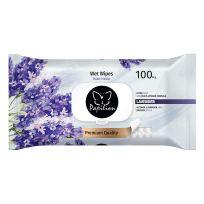 Papilion Влажные салфетки, 100 шт, Lavender (premium, с крышкой)
