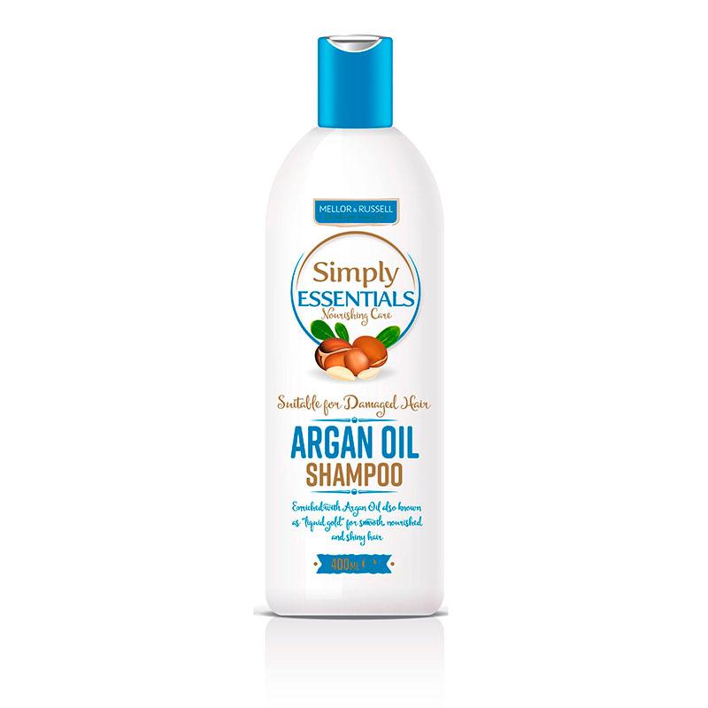 Шампунь с аргановым маслом Simply Essentials Argan Oil, 400 мл