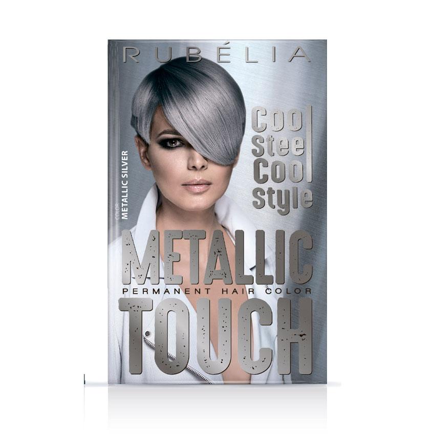 Краска для волос Metallic Touch тон Metallic Silver (MS)