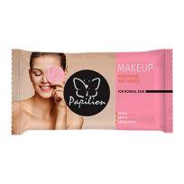 Papilion Влажные салфетки для снятия макияжа, 20 шт, MAKE UP REMOVER (стикер)