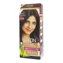 Элитан Крем-краска для волос № 3.66 Марокканский инжир (интенсивный)