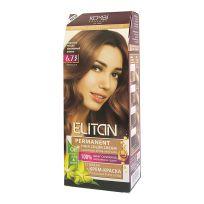 Элитан Крем-краска для волос № 6.73 изысканный мокко (интенсивный)