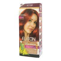 Элитан Крем-краска для волос № 7.44 Ирландский медный шатен (интенсивный)